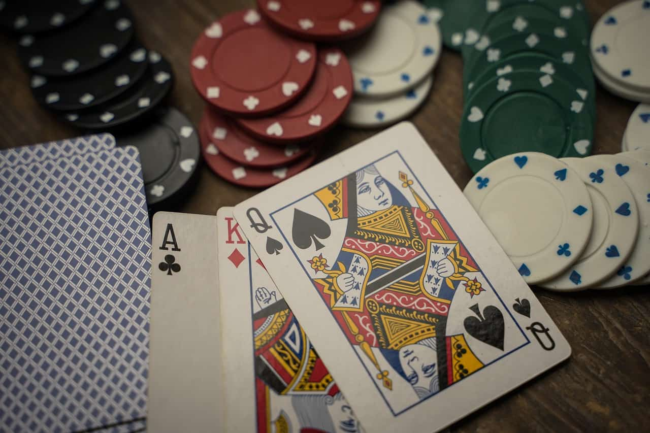 chips and cards - Popular Games the use Casino Chips